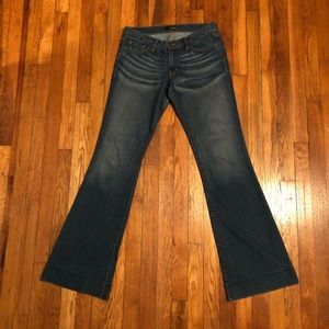Flying monkey flared jeans